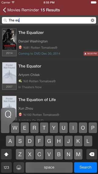تطبيق Movies Reminder