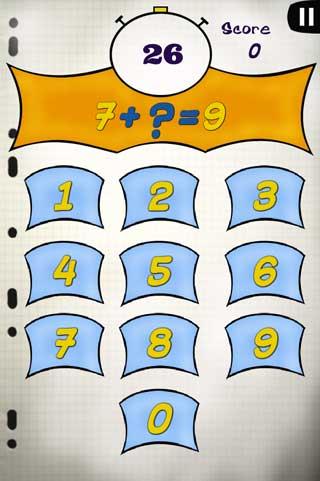 لعبة اختبار فهمك للرياضيات للأندرويد
