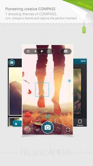 تطبيق Camera360 Concept للتصوير وتعديل الصور