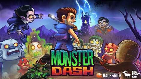 لعبة Monster Dash مجانية على الاندرويد