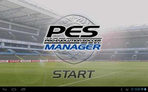 لعبة PES MANAGER لادارة فريقك