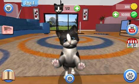 لمحبي القطط لعبة Daily Kitten لاعتناء بقطتك الجميلة