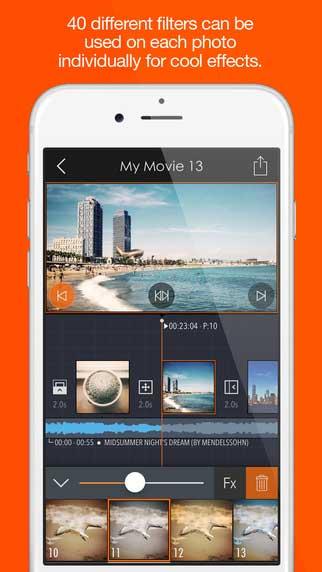 تطبيق Pics2Mov لتحول صورك إلى فيديو