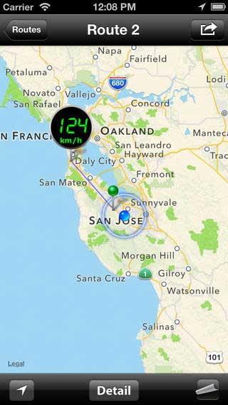 تطبيق Speed PRO+ لتسجيل رحلاتك
