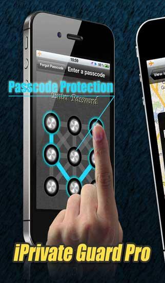 تطبيق iPrivate Guard Pro لحماية صورك وملفاتك