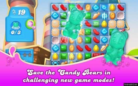 لعبة Candy Crush Soda Saga الشهيرة للاندرويد