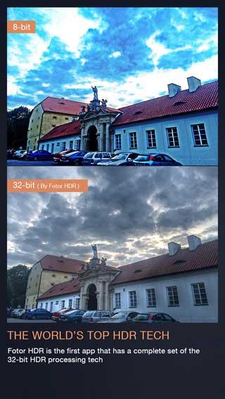 تطبيق Fotor HDR لتحرير الصور وإضافة مؤثرات