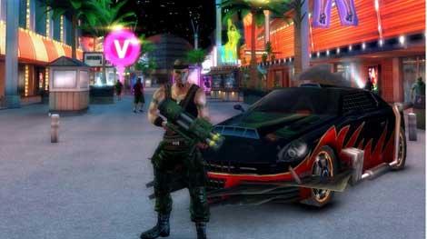 لعبة حرب الشوارع Gangstar Vegas للاندرويد