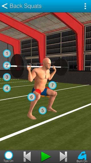 تطبيق RealiFit للتدريب على كمال الأجسام