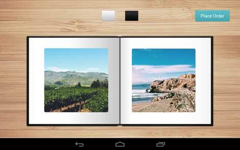 تطبيق Mosaic Photo Books لصنع البوم صور للاندرويد