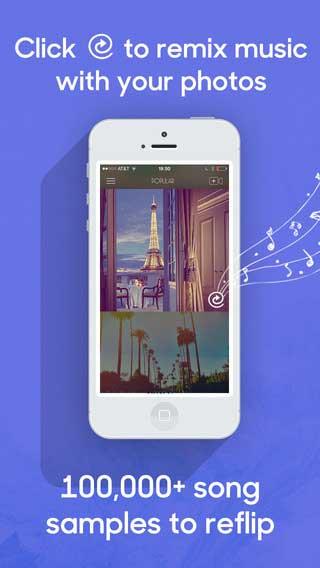 تطبيق Flipjam لتجميع صورك في فيديو