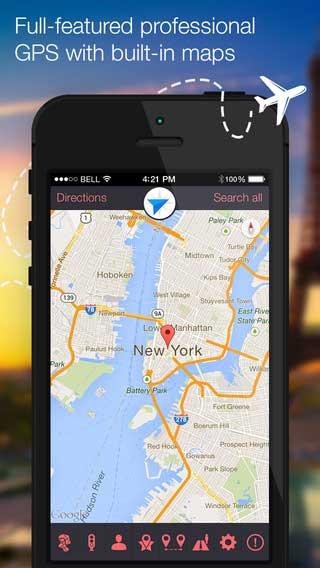 تطبيق iMaps and Street View لاستعراض الخرائط بالصور