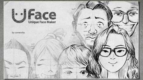 تطبيق Uface لمحبي الرسم والابداع
