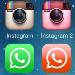 صورة شرح طريقة تكرار التطبيقات الاجتماعية على الأيفون والآيباد