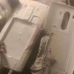 انفجار جهاز LG G3 ويحرق فراش صاحبته