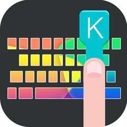 تطبيق Custom Keyboardand Stickers Keyboard For Whats.App
