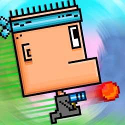 صورة لعبة Big Head Gunner بأجواء سوبر ماريو من أحدث واروع الألعاب الجديدة في متجر ابل