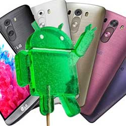 جهاز LG G3 يحصل على الأندرويد 5.0 في بريطانيا