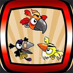 لعبة صياد الطيور