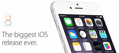 دعوى قضائية ضد آبل بسبب أخذ iOS 8 مساحة كبيرة من التخزين