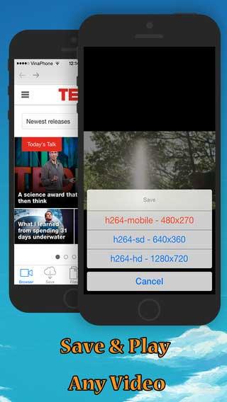 تطبيق mTube لتحميل مقاطع الفيديو من اغلب المواقع