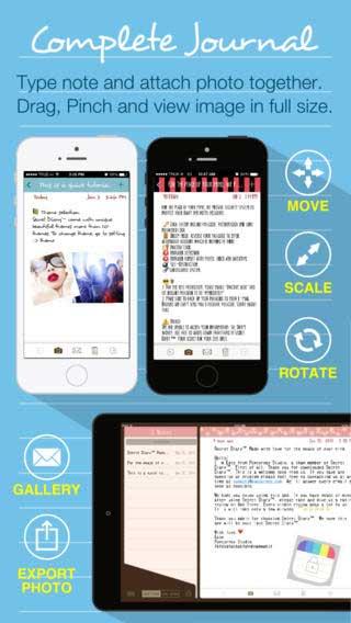 تطبيق Secret Diary لحماية صورك وملفاتك