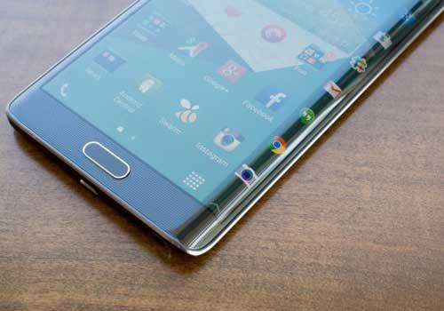 سامسونج ستطلق نسخة من جالاكسي S6 بشاشة منحنية