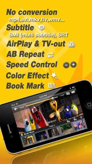 تطبيق iMPlayer مشغل صوتيات وفيديو ومزايا كثيرة