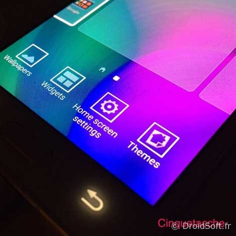 واجهة TouchWiz ستحصل على الثيمات