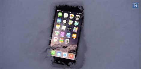 فيديو: اختبار الأيفون 6 تحت الثلج