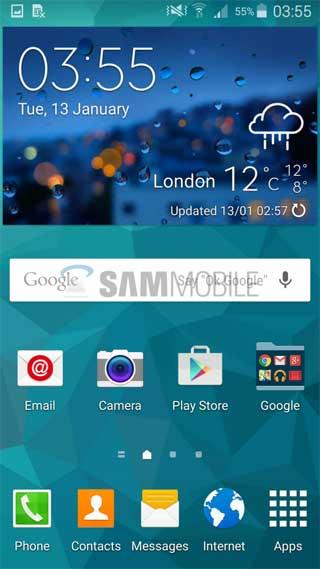 جهاز جالاكسي S5 في بريطانيا حصل على الاندرويد 5.0