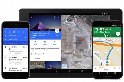 تحديث تطبيق خرائط جوجل مع ميزة مشاركة الأماكنتحديث تطبيق خرائط جوجل مع ميزة مشاركة الأماكن