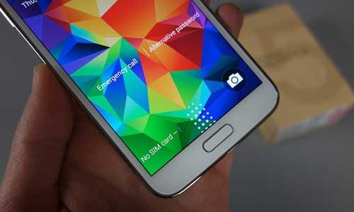 جهاز Galaxy S6: سيحظى بحساس بصمة يعمل باللمس
