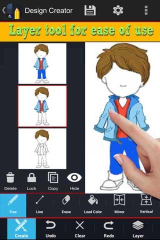 تطبيق Design Creator Instafusion لمحبي وهواة الرسم
