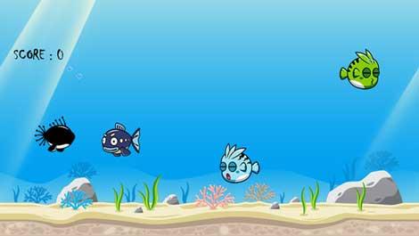 لعبة Catch The Fish صيد السمك