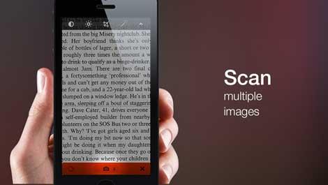 تطبيق Scanify Plus لتحويل أيفونك إلى جهاز سكانار