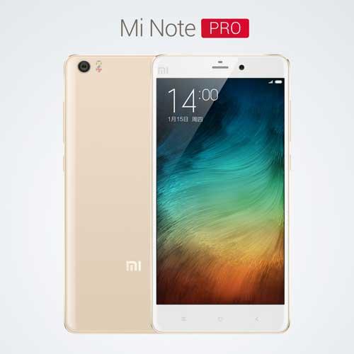 شركة Xiaomi تكشف أيضا عن جهازها الاحترافي Mi Note Pro