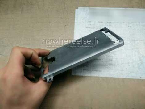 مرة أخرى: صور مسربة للهيكل المعدني لجهاز جالاكسي S6