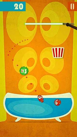لعبة Pop Fishes المسلية والممتعة للاندرويد