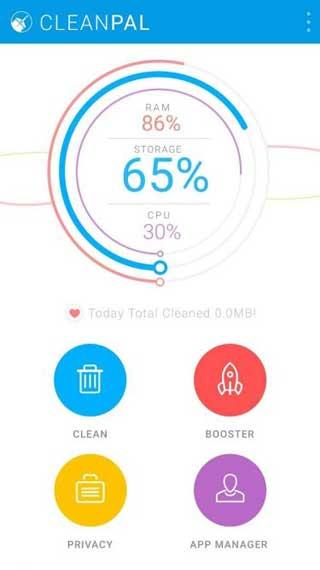 تطبيق Clean Pal لتنظيف النظام من الملفات الزائدة