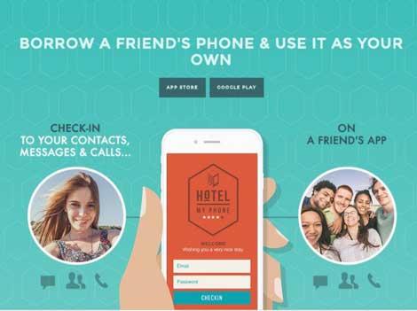 تطبيق Hotel My Phone - Phone Share شبكة داخلية