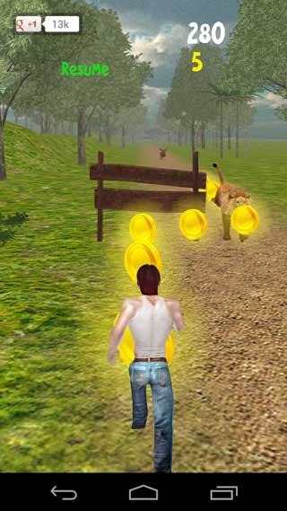 لعبة Jungle Run ممتعة ومسلية للاندرويد