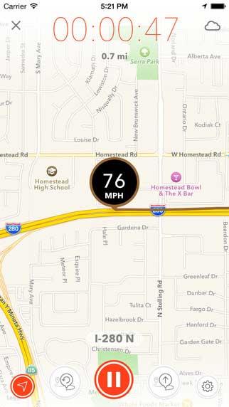 تطبيق Speed PRO+ لقياس سرعتك بالسيارة