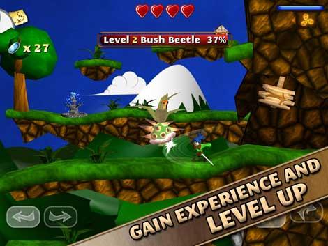 لعبة Swordigo المميزة والرائعة للاندرويد