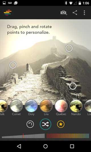 تطبيق Shift لتحرير الصور مع فلاتر ومزايا كثيرة