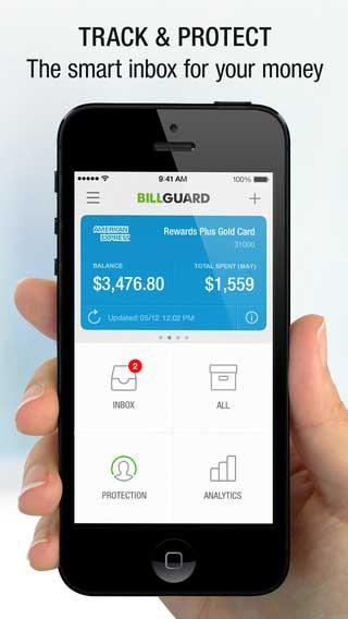 تطبيق BillGuard لحماية مصاريفك المالية