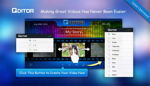تطبيق Qditor لإدارة وتحرير مقاطع الفيديو للأندرويد