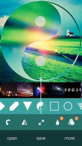 تطبيق Reflection One Touch لتحرير الصور
