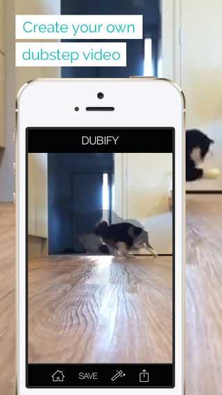 تطبيق Dubify لتصوير وتحرير الفيديو