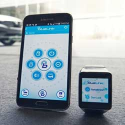 تطبيق جديد من هيونداي للتحكم بسيارتك من خلال الساعة